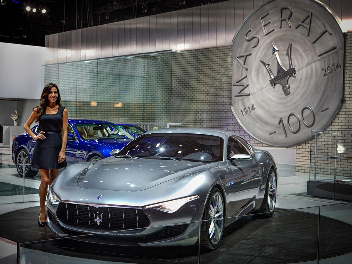 Maserati: focus su Alfieri concept e Quattroporte GTS