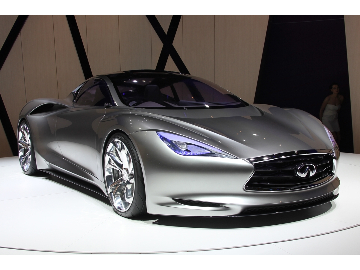 A new Concept in Detroit will anticipate first Infiniti standalone electric vehicle