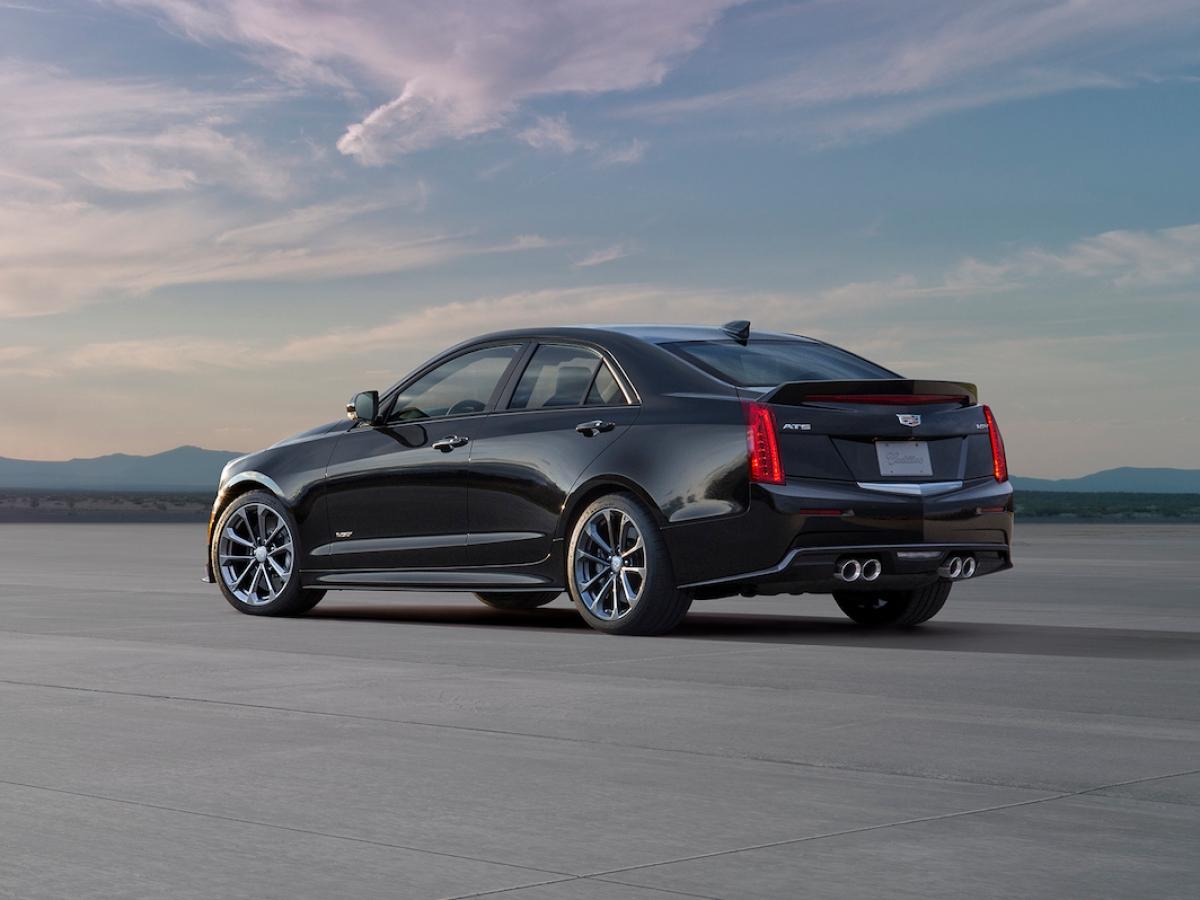 Cadillac ATS-V Berlina 2016
