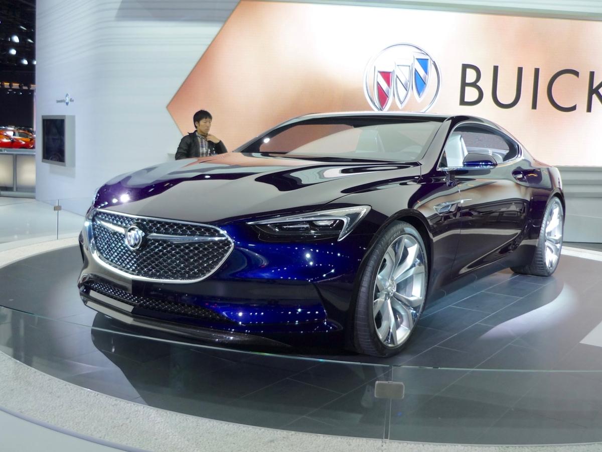 Buick Avista Concept Naias 2016