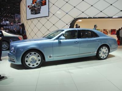 Bentley verso sviluppo di una Grand Convertible
