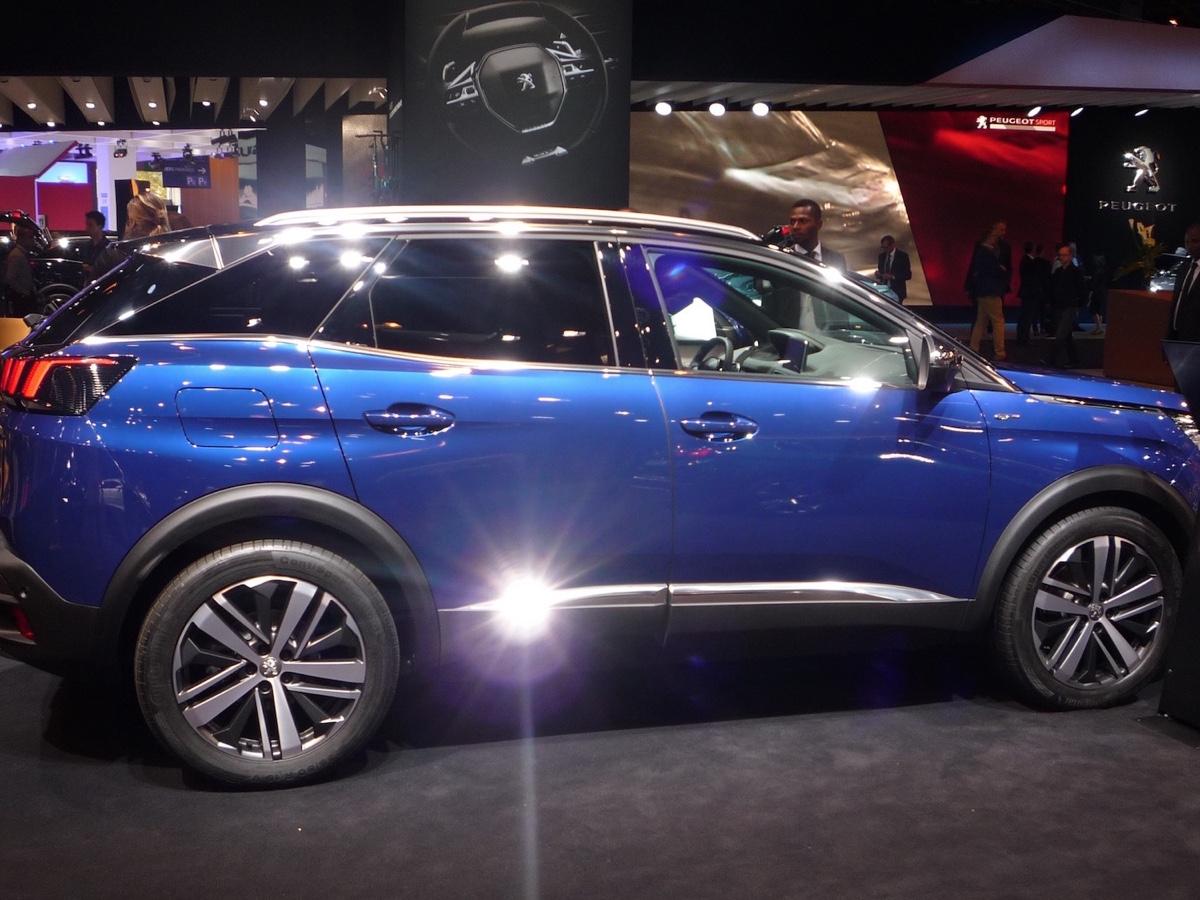 Peugeot 3008 Parigi