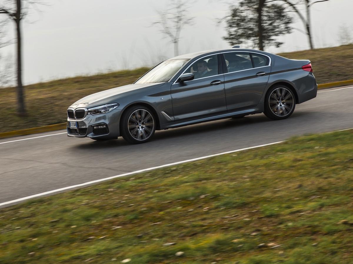 Nuova BMW Serie 5 2017