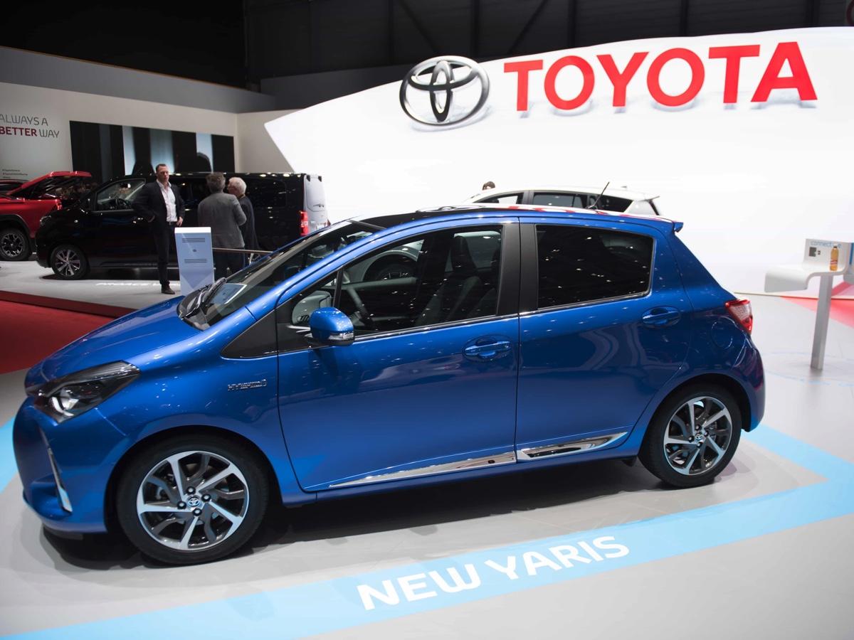 Toyota Yaris Hybrid Ginevra 2017