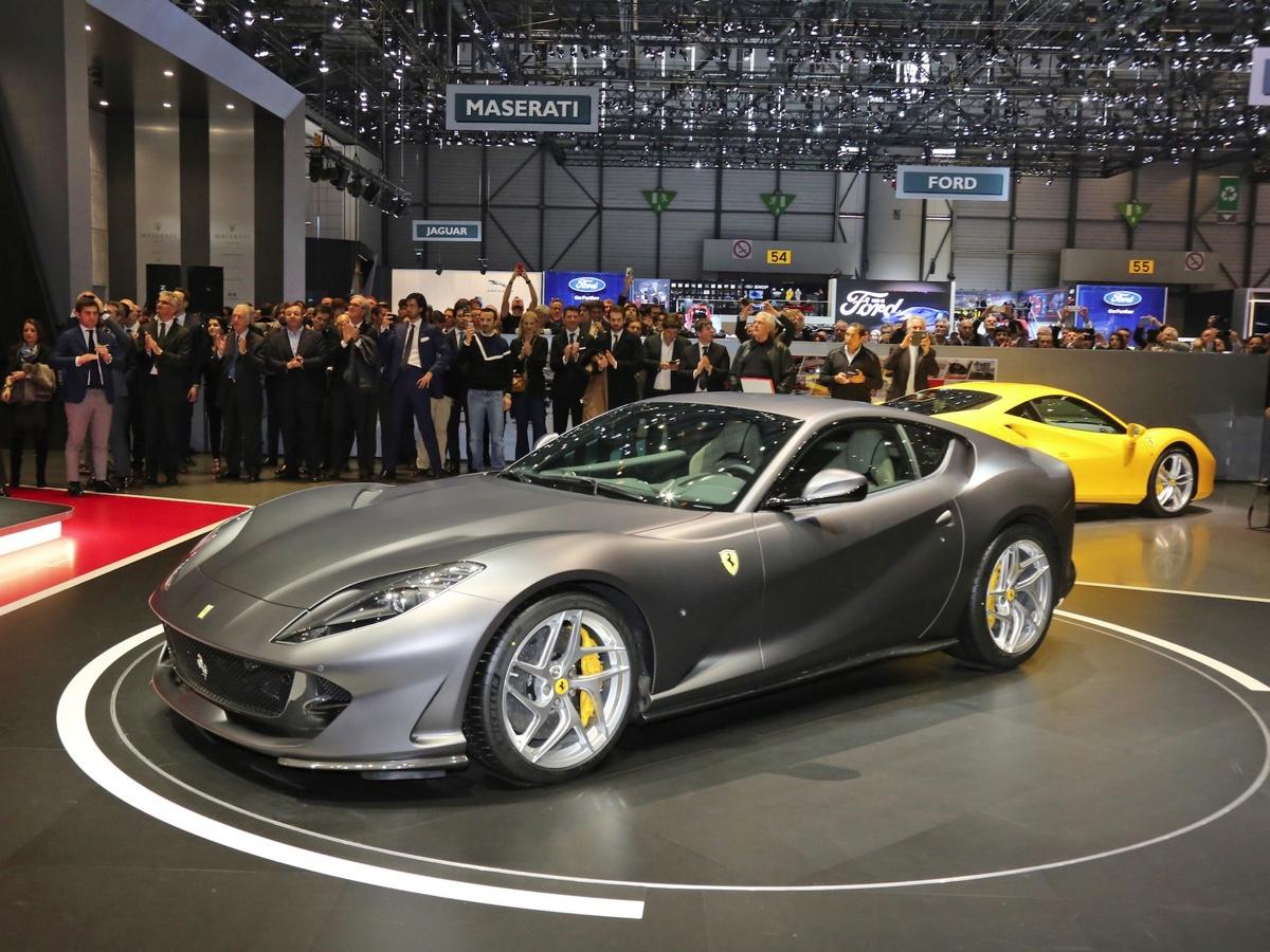 Ferrari 812 Superfast Ginevra 2017