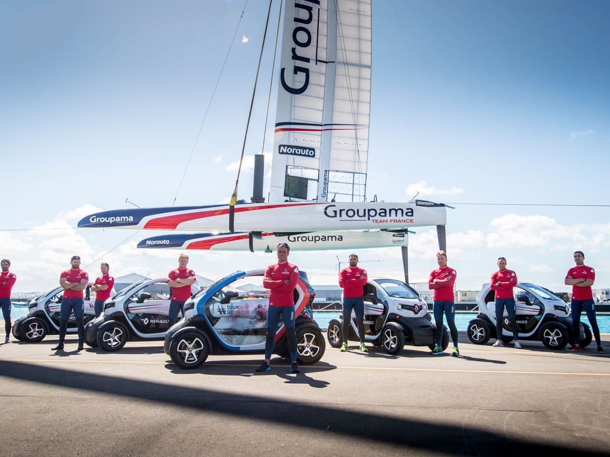 Renault Twizy per America's Cup 2017