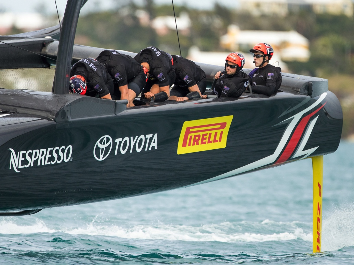 Coppa America di Vela: Pirelli con il Team New Zealand