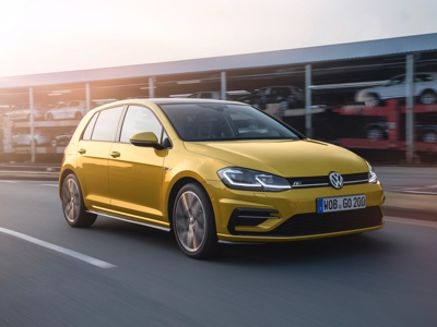 Volkswagen Golf always at the top in Europe