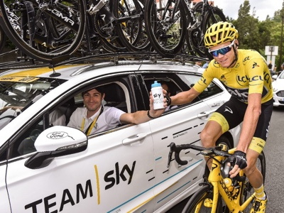 Ford celebra trionfo del team Sky al Tour de France