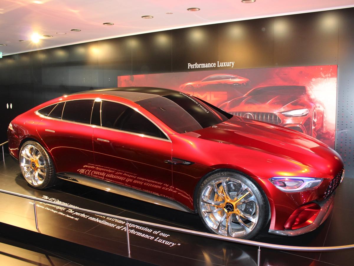 Mercedes AMG Gt concept Francoforte 2017