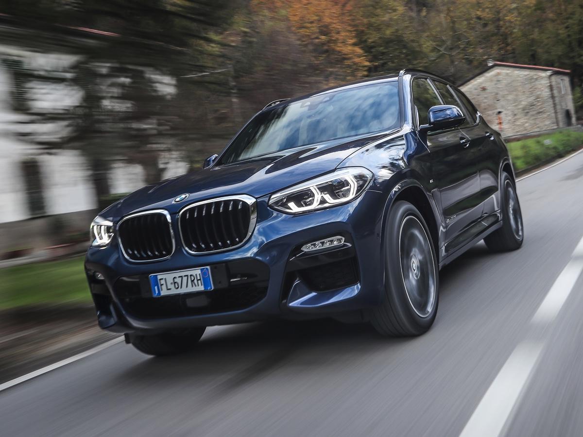 BMW X3 new entry