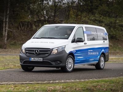 Elettrificazione Mercedes Vans: si parte con eVito