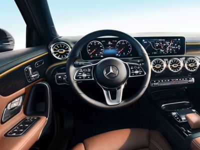 Mercedes reveals the interior of its new A-Class