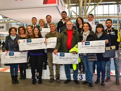 Consegnati i premi del progetto solidale Suzuki è Sport