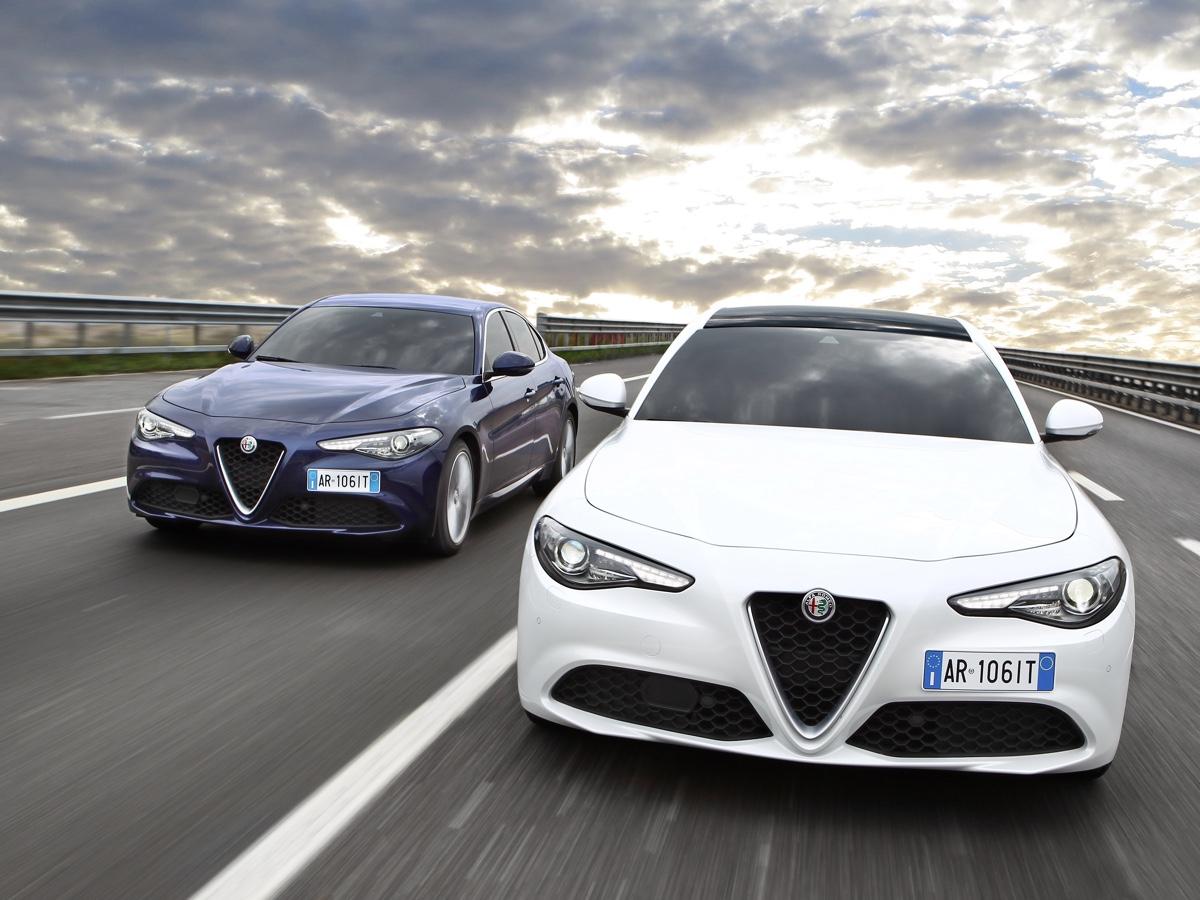 Alfa Romeo Giulia MissionFleetAwards