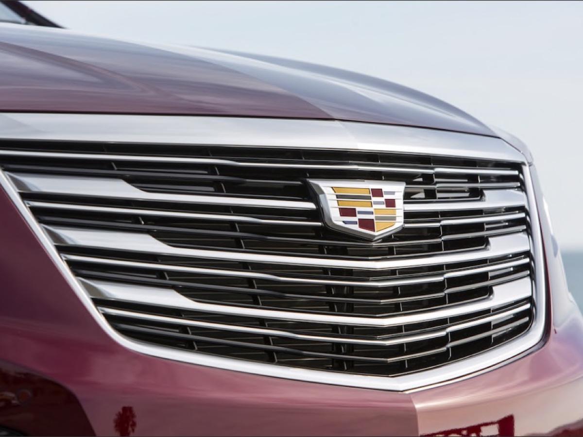 Cadillac XT5 2017 Frontale