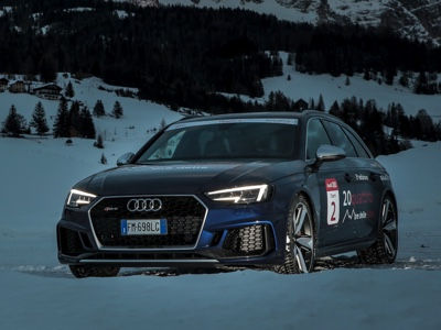 Audi completa con successo la 20quattro ore delle Alpi