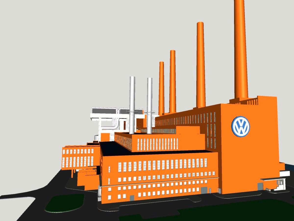 Volkswagen centrali elettriche gas
