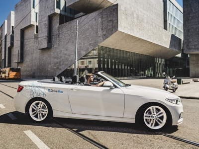 DriveNow di BMW partner del Salone del Mobile