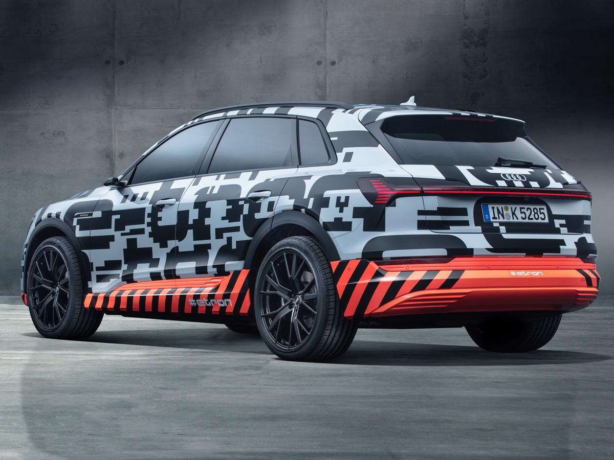 Audi e-tron preordini