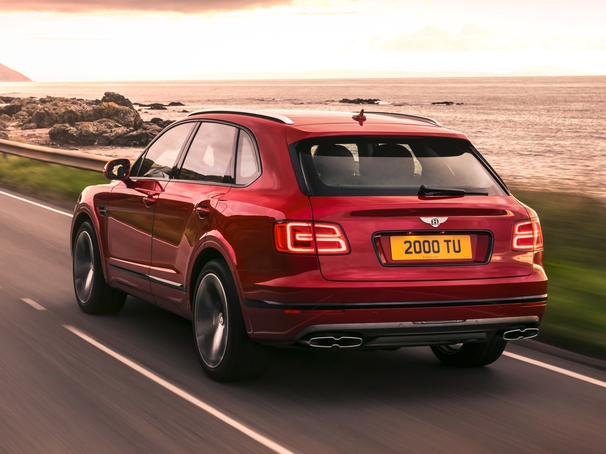 Bentley Bentayga V8 Pechino
