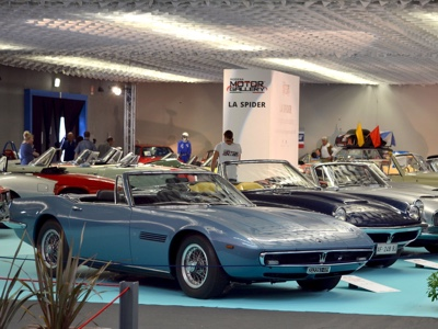 Tribute to Enzo Ferrari at the Modena Motor Gallery in September