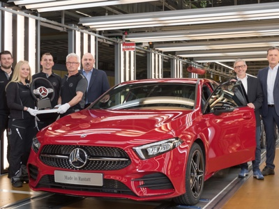 Mercedes to start production of its new A-Class in Rastatt