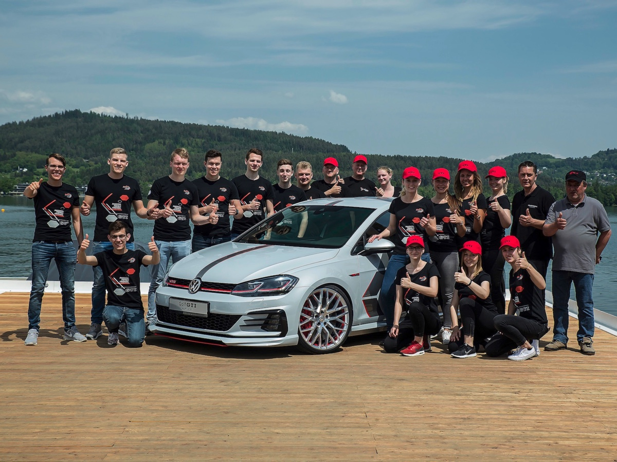 Volkswagen  Golf GTI Next Level e Wolfsburg Team