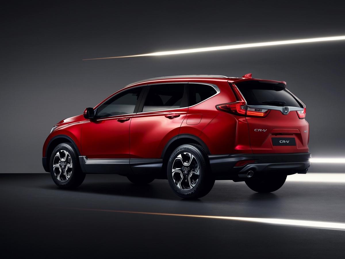 Honda CR-V nuova Salone Torino