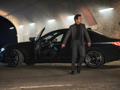 "BMW M5 a fianco di Tom Cruise in ""Mission Impossible - Fallout"""