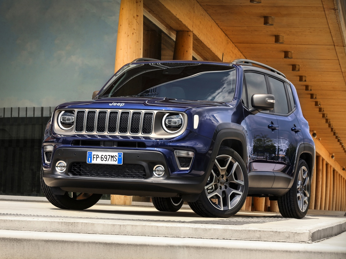 Prize of the State Police to the Jeep Renegade TV commercial