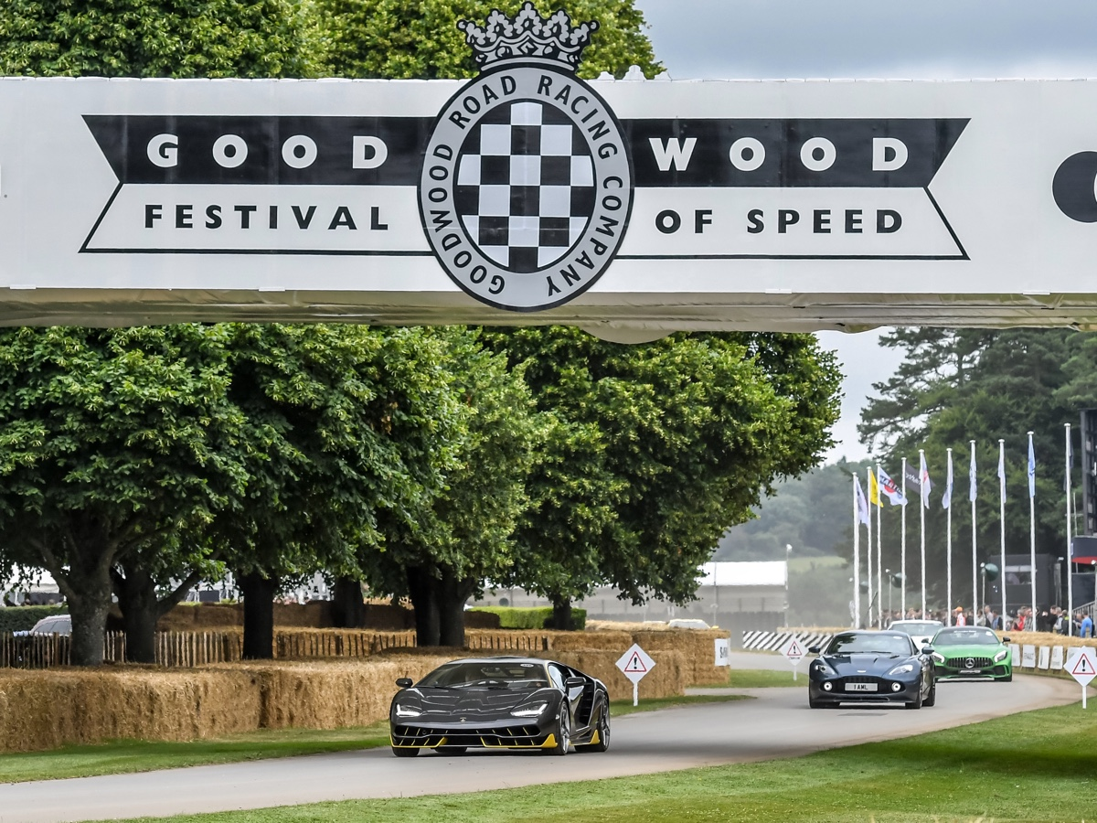 Lamborghini Festival Goodwood