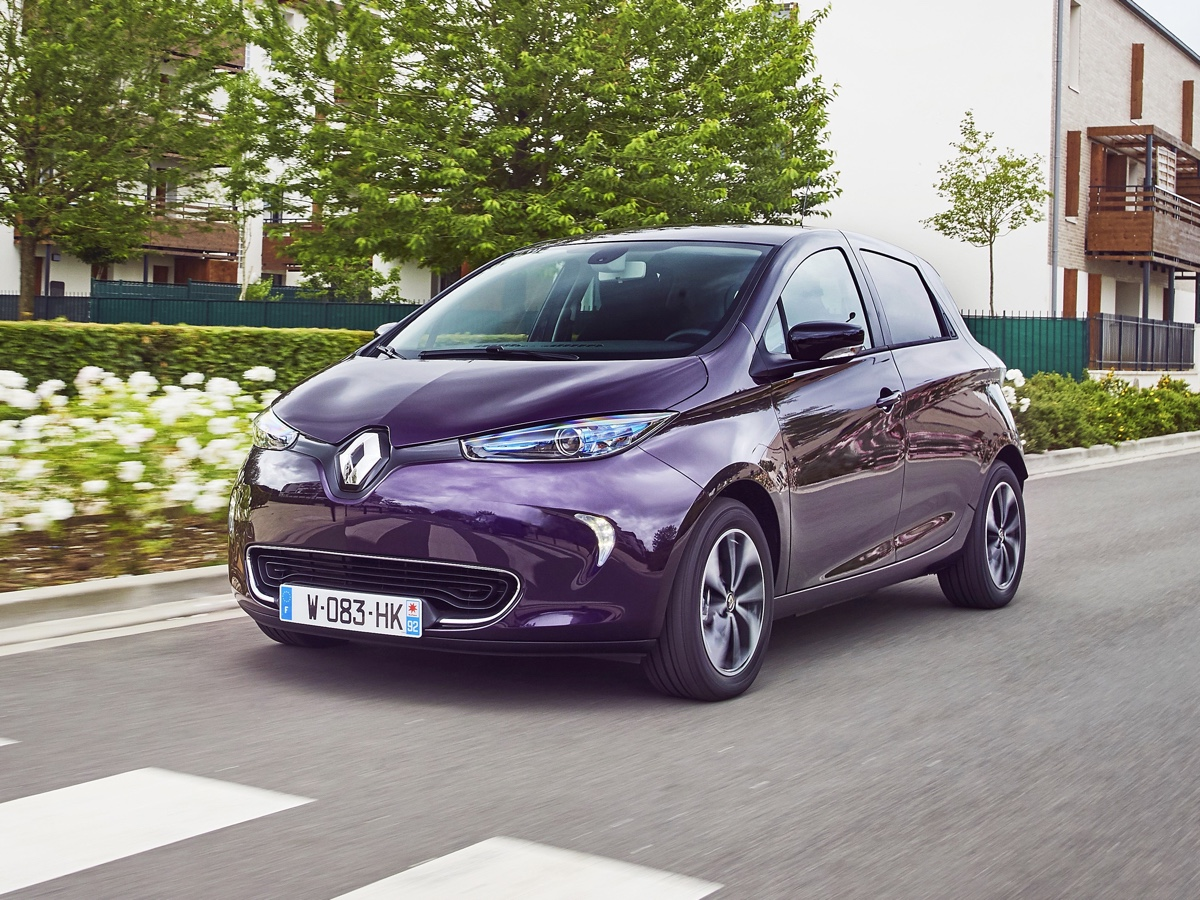 Renault car sharing Parigi