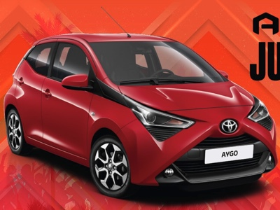 New Toyota Aygo at the Vertical Summer Tour 2018