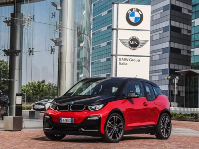 The BMW Italia headquarters is electrified