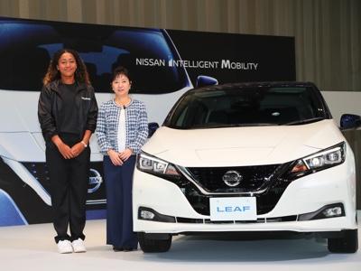 La tennista Osaka brand ambassador di Nissan