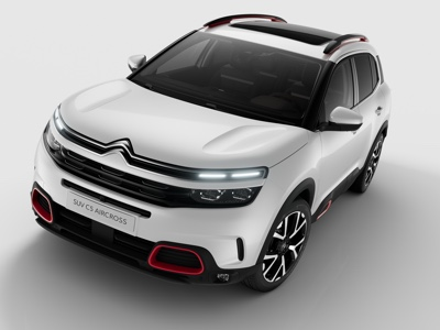 Disponibile il SUV Citroën C5 Aircross