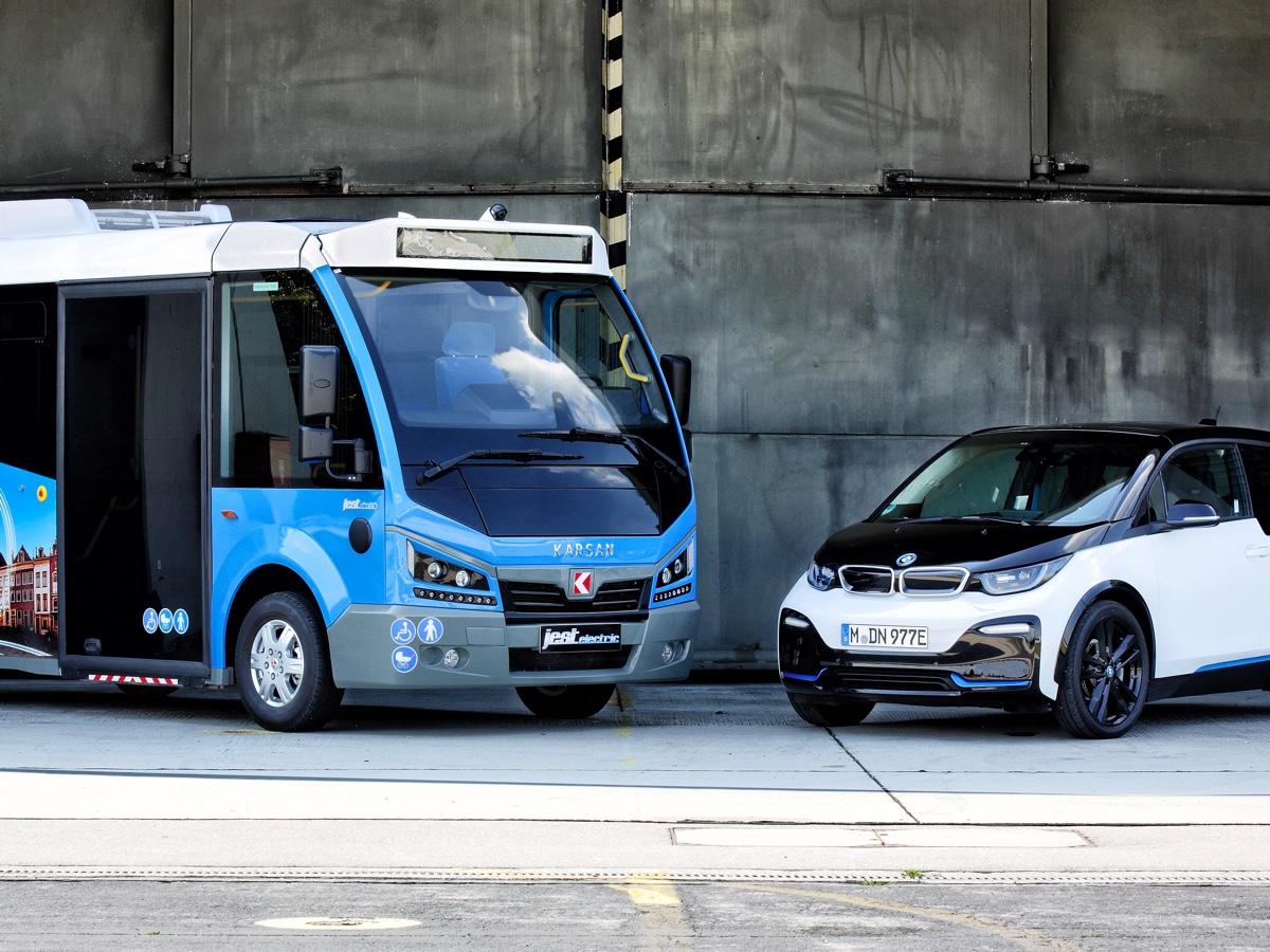 BMW i elettrizza il bus turco Karsan