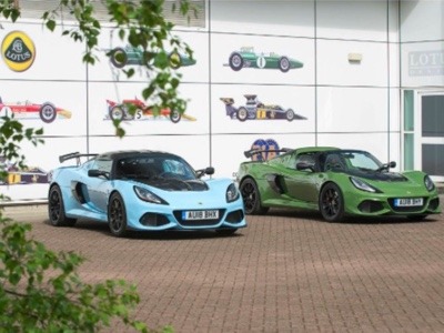 National preview for the Lotus Exige 410 at Milano Autoclassica