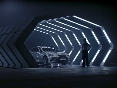 Lexus ES Hybrid inspires the first spot produced by artificial intelligence