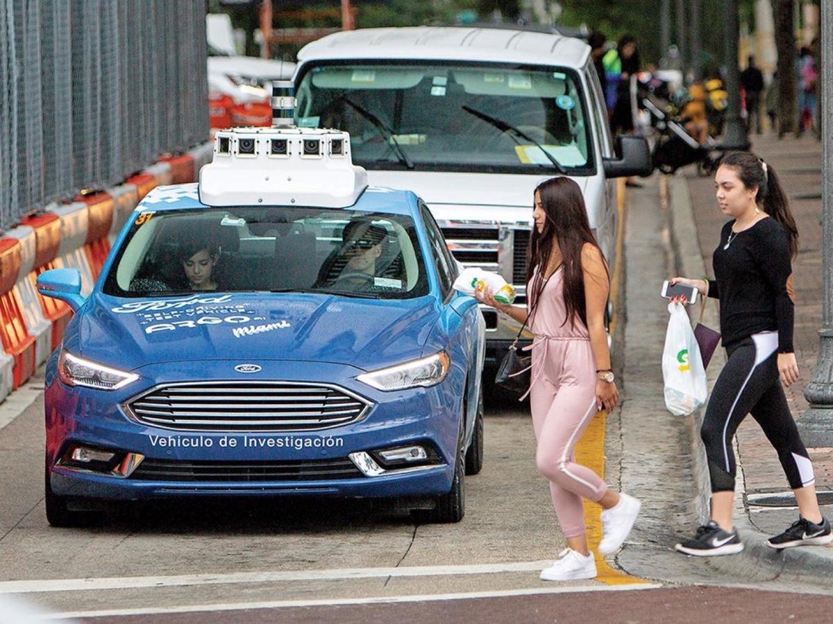 Ford Argo test guida autonoma Miami