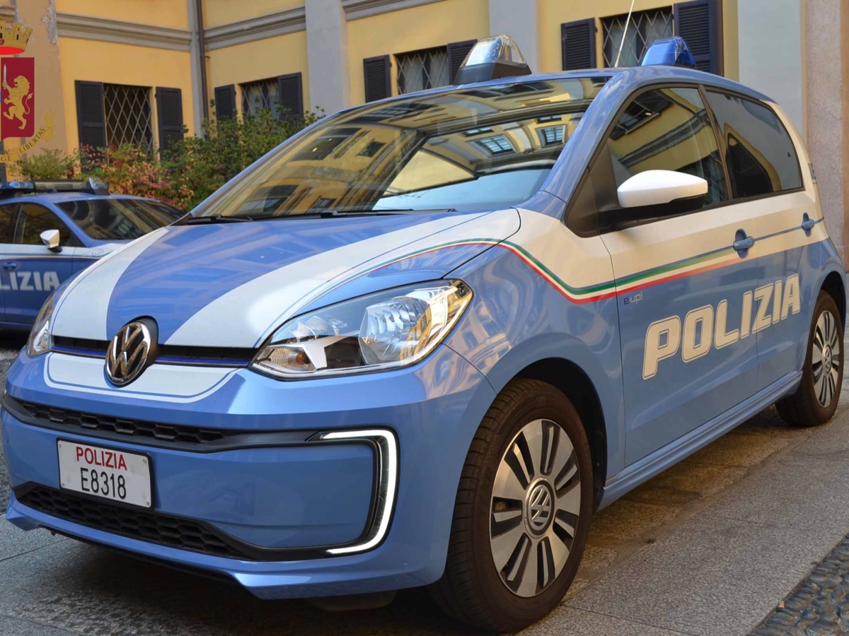 Volkswagen E-Up Polizia