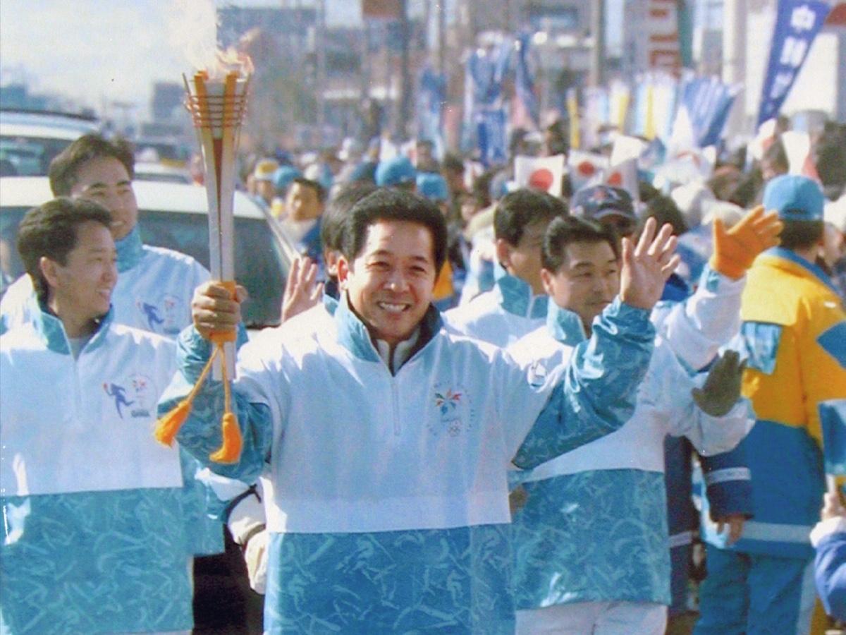 Toyota  Presenting Partner viaggio Fiamma Olimpica Tokyo 2020