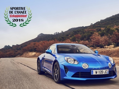 Alpine A110 is the best sports model of the year for the BBC Top Gear magazine