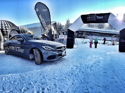 At the start a new season of the Mercedes 4Matic Tour