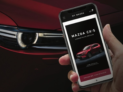 My Mazda App, assistance at your fingertips