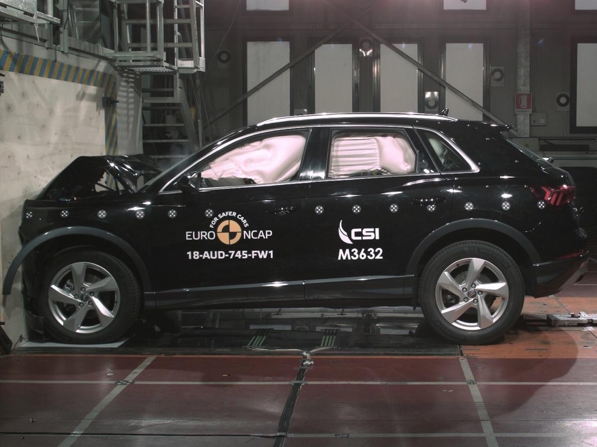 Audi Q3 Crash Test Euro NCAP