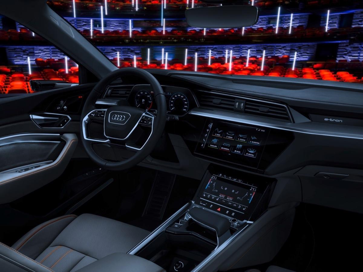 Audi e-tron ptototipo al Royal Danish Playhouse