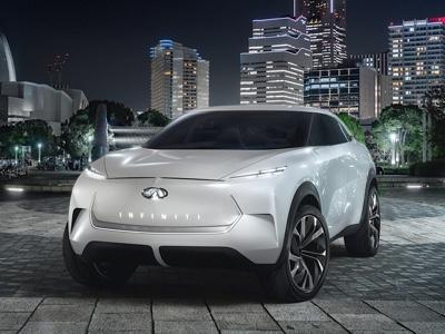 Infiniti presenta al Naias QX Inspiration, concept elettrificato di SUV
