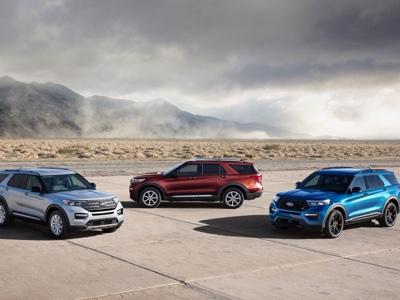 Ford completa la gamma Explorer con ST e Hybrid